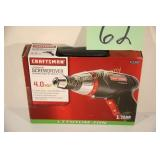 NEW CRAFTSMAN 4.0V LITHIUM SCREWDRIVER IN BOX