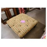 SQUARE PRINT OTTOMAN MADE BY FAIRFIELD