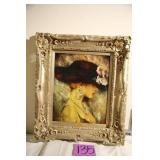FRAMED PORTRAIT PICTURE - SIGNED & NUMBERED