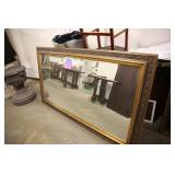 LARGED FRAMED WALL MIRROR