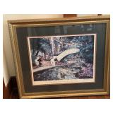 group of framed art, incl. C.M. Russell