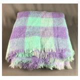 Mohair/Wool Lap Blanket