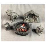 Volcanic Figurines
