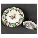 Limoges and Vieux Versailles Dishes