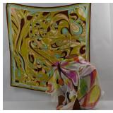 PUCCI, Two Silk Scarves