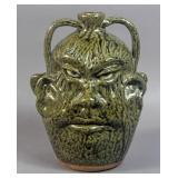 C.J. & Clete Meaders 2-Faced jug
