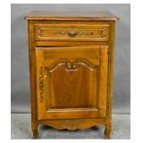 Louis XV style walnut cabinet