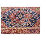 Heriz design carpet