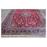 Floral designed Sarouk carpet