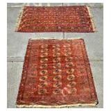 2 Throw rugs