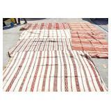 6 Hand woven Kilim rugs