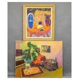 2 Living room interior studies