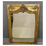 Rococo style gilt-framed mirror