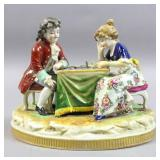 German porcelain figural group
