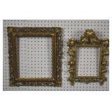 2 Giltwood frames