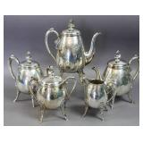 Meriden silver plated tea and coffee set