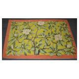 American floral needlework