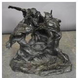 F. Flemming Baxter bronze sculpture
