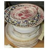 Group of European porcelain plates