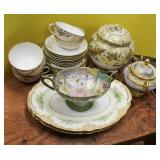 Nippon and Noritake porcelain articles