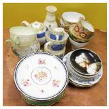 Group of assorted European porcelains