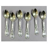 Tiffany & Co. sterling silver Chrysanthemum spoons