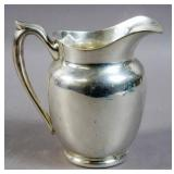 American sterling silver pitcher