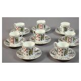 Tiffany & Co Elizabethan demitasse set