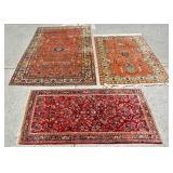 3 Persian rugs