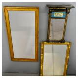 3 American style mirrors