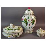 Spode porcelain lidded tureen;