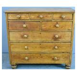 Pine 8-drawer chest