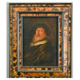 Dutch Old Master style portrait