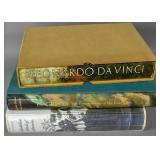 3 Large Art Books in original box sleeves