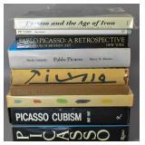 9 Picasso Art books