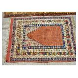 3 Caucasian scatter rugs