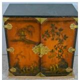 Chinoiserie drinks cabinet