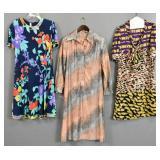 3 Wrap style dresses