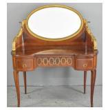 Louis XV style mahogany dressing table