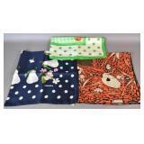 3 Valentino silk scarves