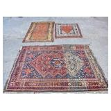 3 scatter rugs