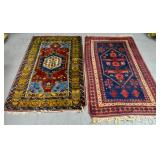 2 Scatter rugs