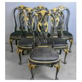 Set of 6 Georgian style dinning chairs