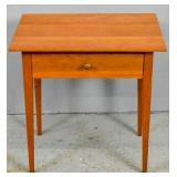 Dana Robes Wood Craftsmen cherry side table