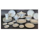 Rosenthal porcelain partial dinner service