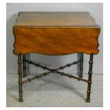 Georgian style mahogany Pembroke table