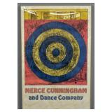 Merce Cunningham and Dance Company poster