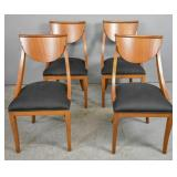 Set of 4 Biedermeier style side chairs