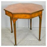 Queen Anne style mahogany center table