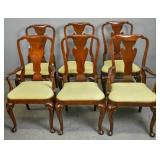 Set of 6 Baker mahogany dining chairs